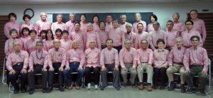 石見銀山ガイドの会会員集合写真